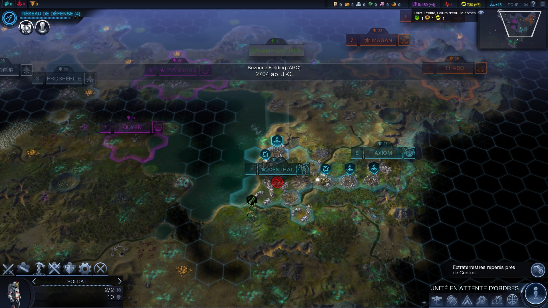 GameTest ? Civilization : Beyond Earth (PC) | Game Side Story - L