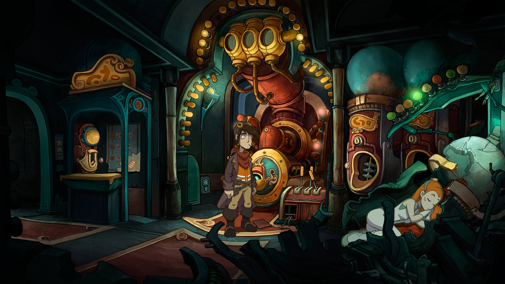 deponia le point click qui fait rigoler game side story. Black Bedroom Furniture Sets. Home Design Ideas