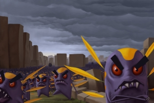 Evil Angry Planet