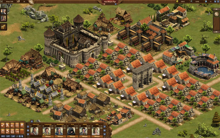Types Of Buildings Forge Of Empires