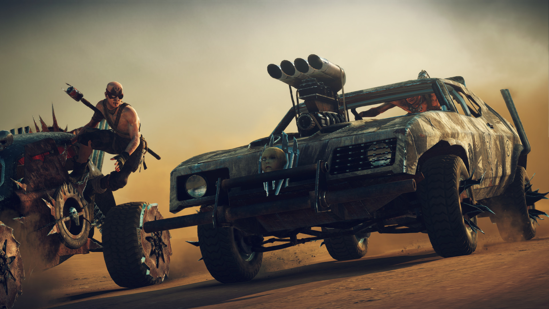 gc 15 preview mad max pc ps4 xbox one game side story. Black Bedroom Furniture Sets. Home Design Ideas