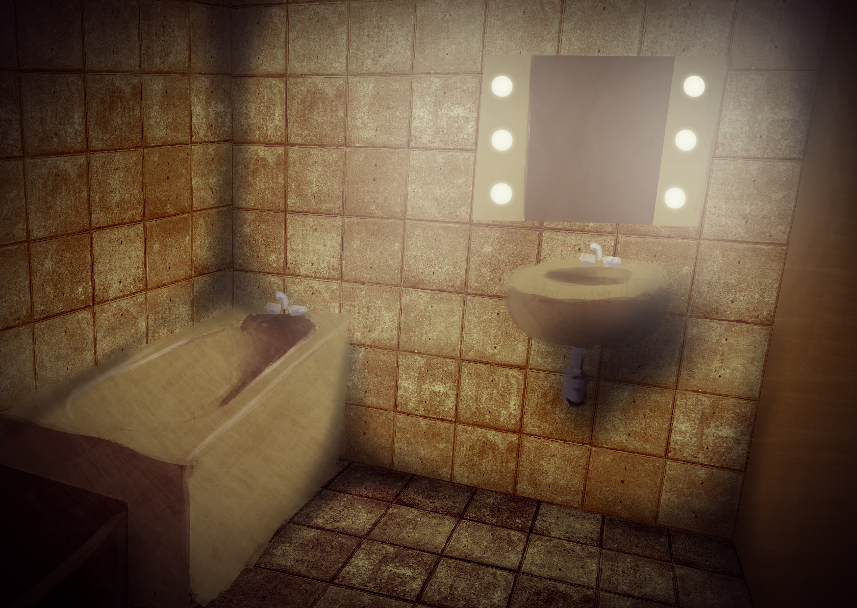 Interview l quipe d opaque hits playtime game side story - Salle de bain jaune ...