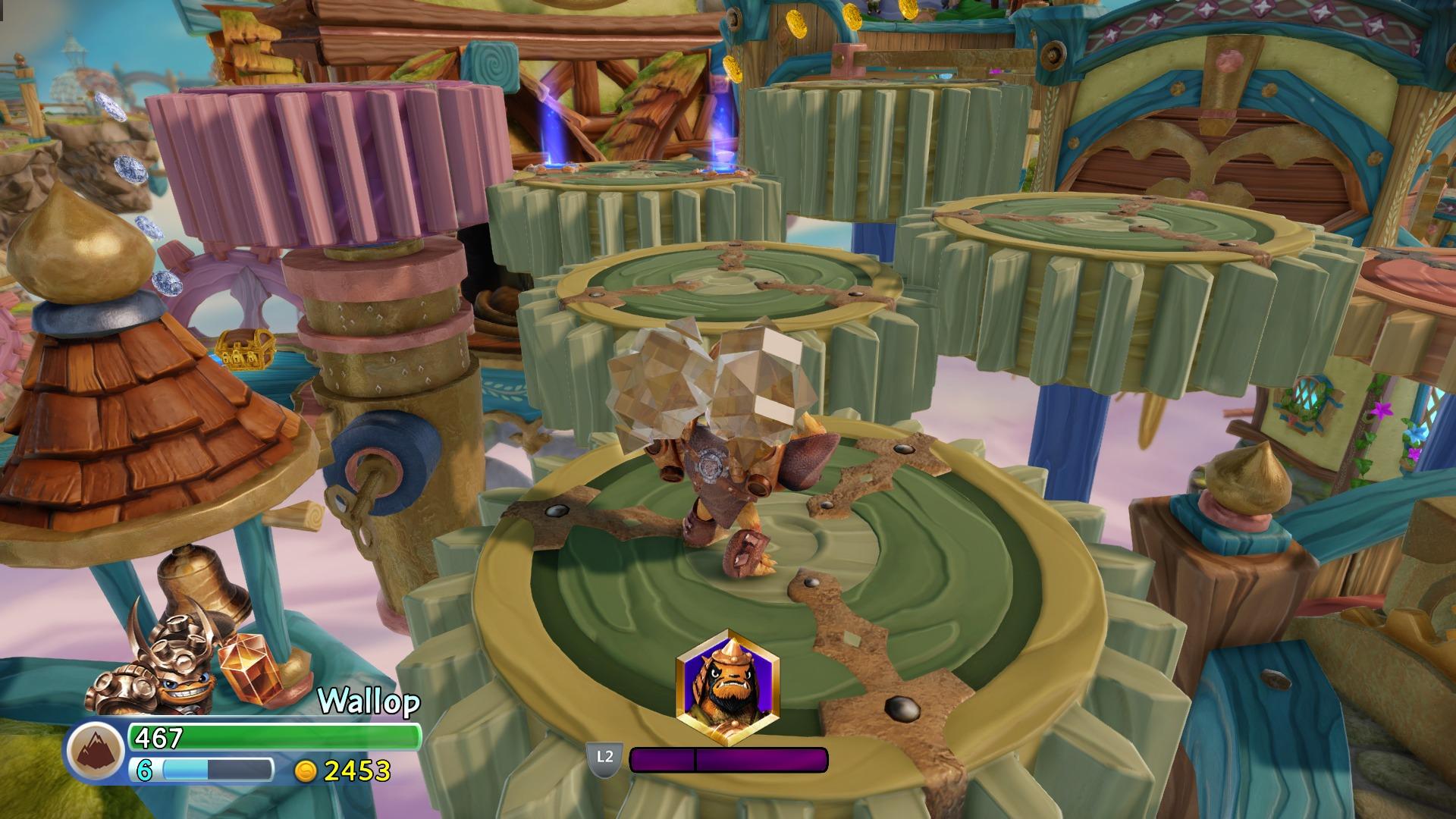 Skylanders trap team game side story - Tous les skylanders ...