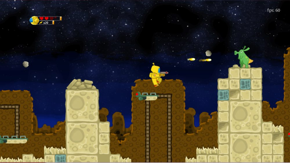 Astroman : sorti sur Xbox Live Indie Games