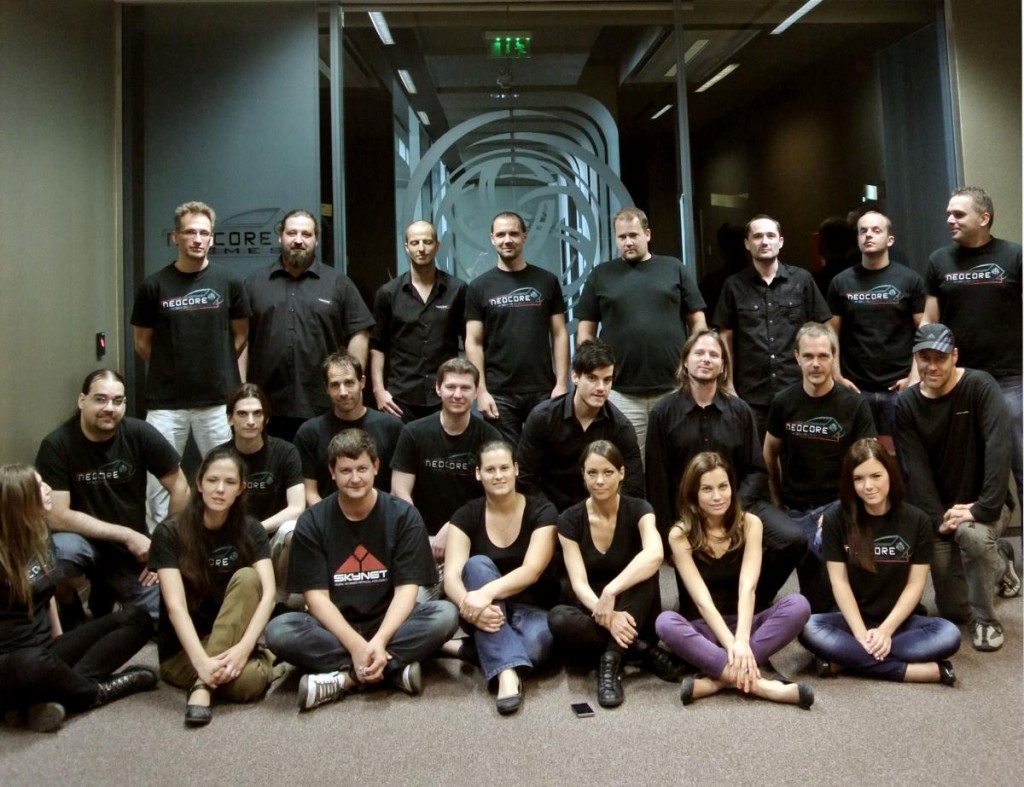 L'équipe de Neocore Games