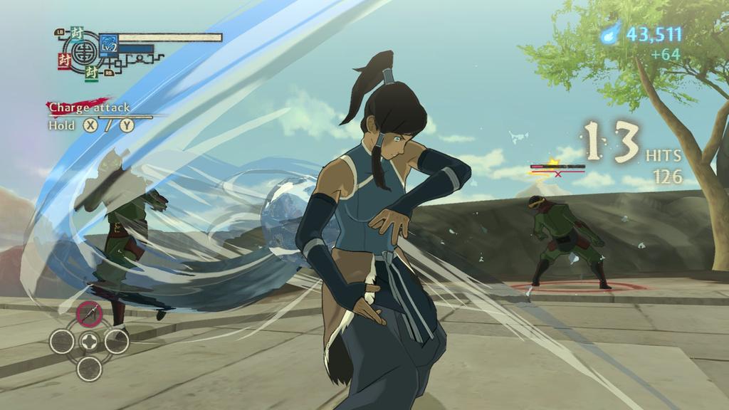 Les effets visuels des attaques sont plutôt stylés !