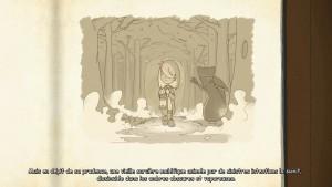 Comme un véritable conte l'histoire d'Anna prend forme au fur et à mesure de votre progression.