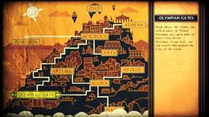 Voici le mont Olympe, votre terrain de jeu.