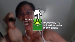 Les QTE sont simples à réaliser. Press A to not die !