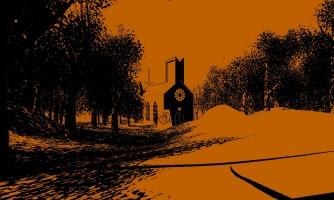 Le style graphique minimaliste sert vraiment l'atmosphère surréaliste du jeu.