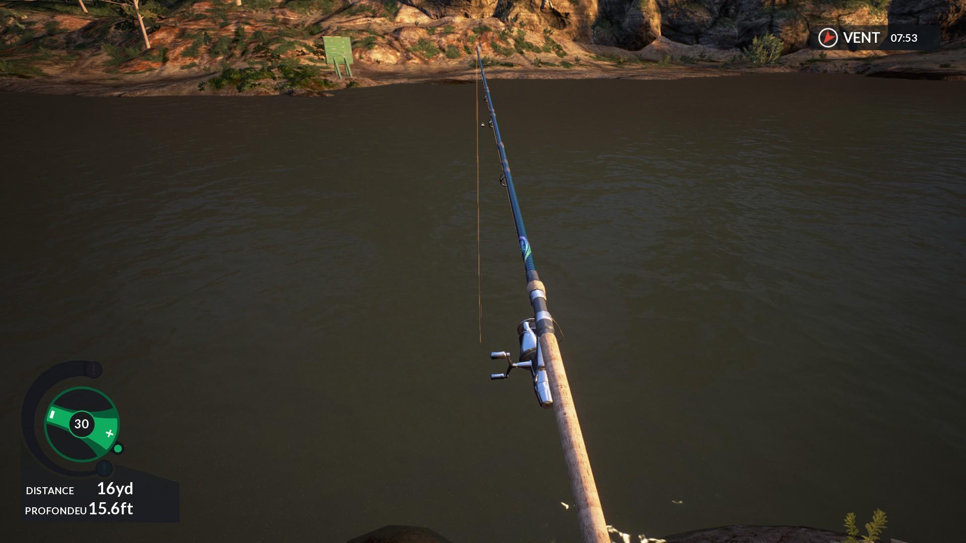 Dovetail games euro fishing game side story for Bon tempe lake fishing