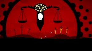 Tulpa propose une imagerie noire et glauque autant qu'il sait nous inviter dans des décors féériques.