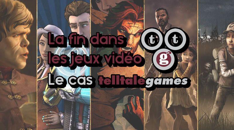 La fin dans les jeux vidéo : le cas Telltale