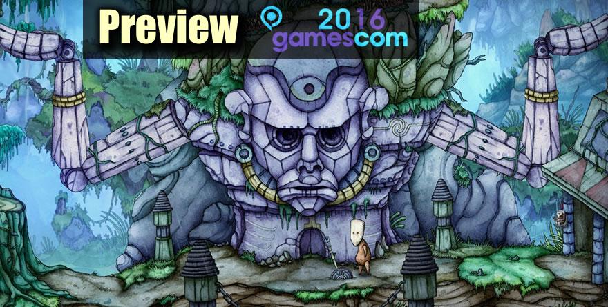 Gamescom 2016 - Preview : Candle