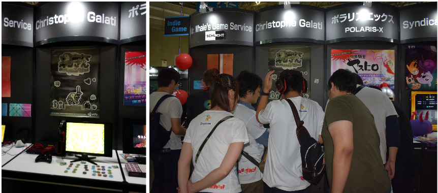 TGS booth