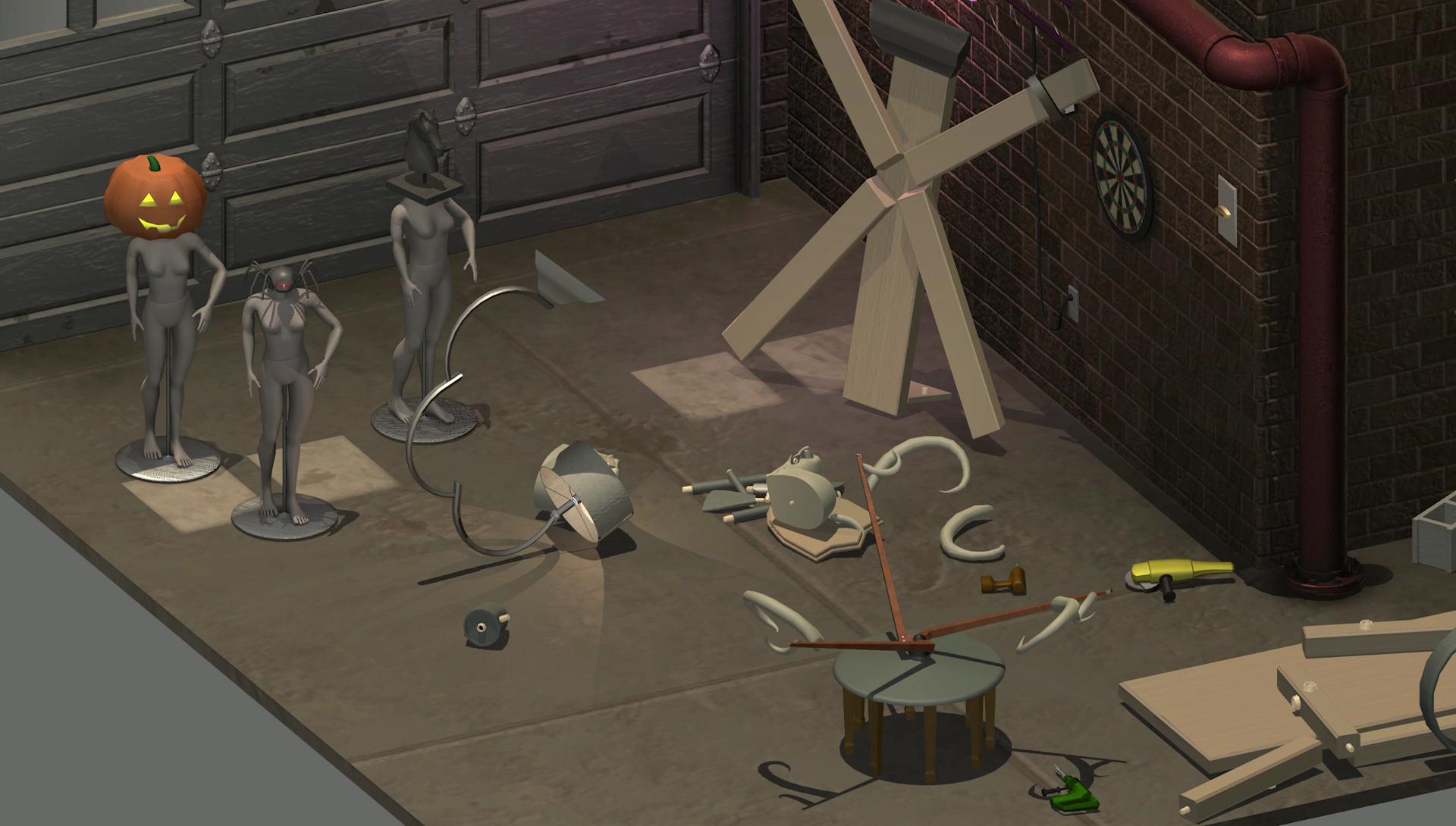 Home improvisation furniture sandbox game side story for Bureau 13 gameplay