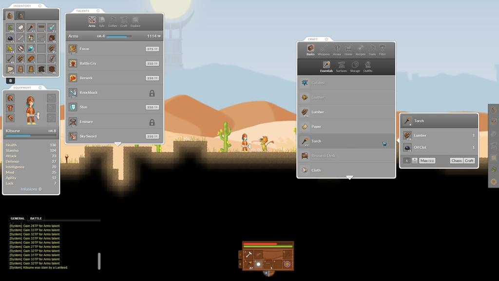 L'interface du jeu est modulable selon vos besoins.