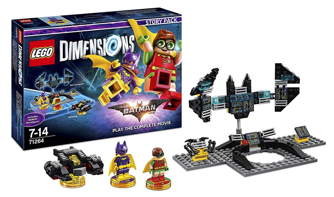 lego dimensions 2016 2017 guide pour constructeurs game side story. Black Bedroom Furniture Sets. Home Design Ideas