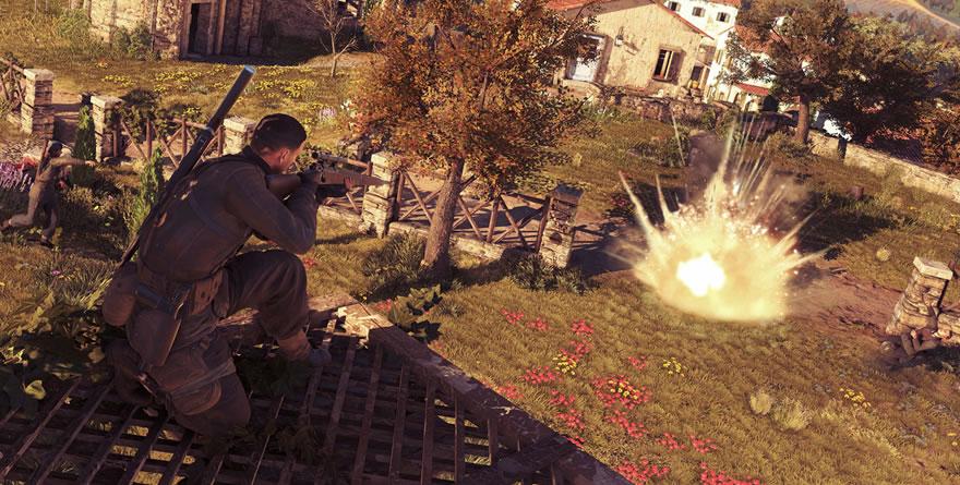Sniper Elite 4 en COOP : le manoir de trucbidule