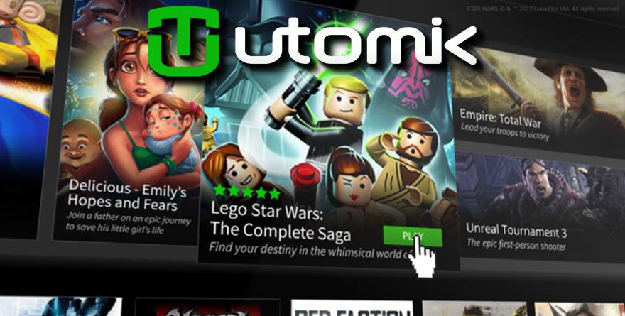 Utomik : du bon jeu à la demande ?
