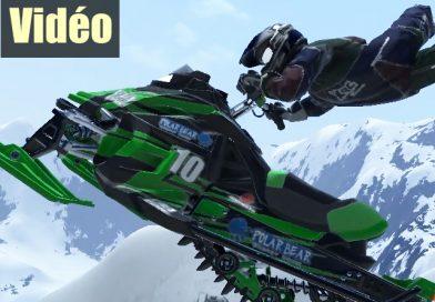 SNOW MOTOR RACING FREEDOM et sa poudreuse…