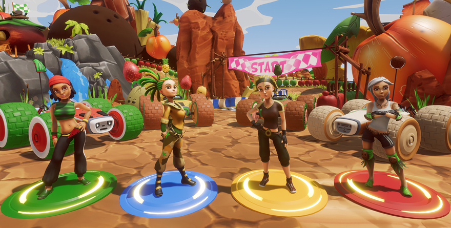 Concours –  All-Star Fruit Racing : 3 jeux Steam à gagner !