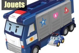 Robocar Poli : Camion Quartier Général Mobile
