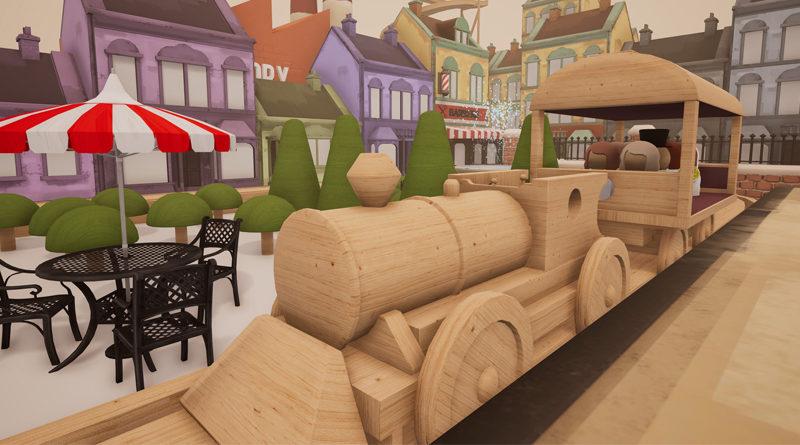 Tracks la construction de choupi ville game side story for Choupi et doudou a la piscine