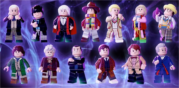 LEGO Dimensions One Game. Thirteen Doctors. Endless Awesome. - Google Chrome
