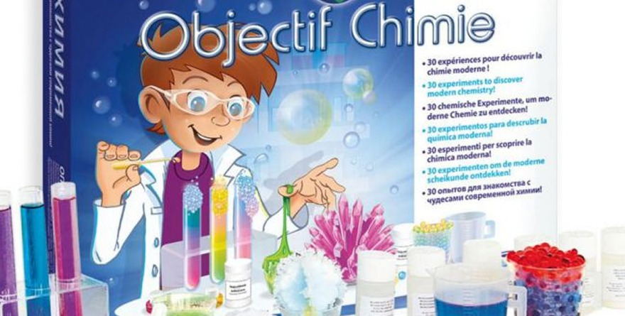 Coffret Objectif Chimie Sentosphere
