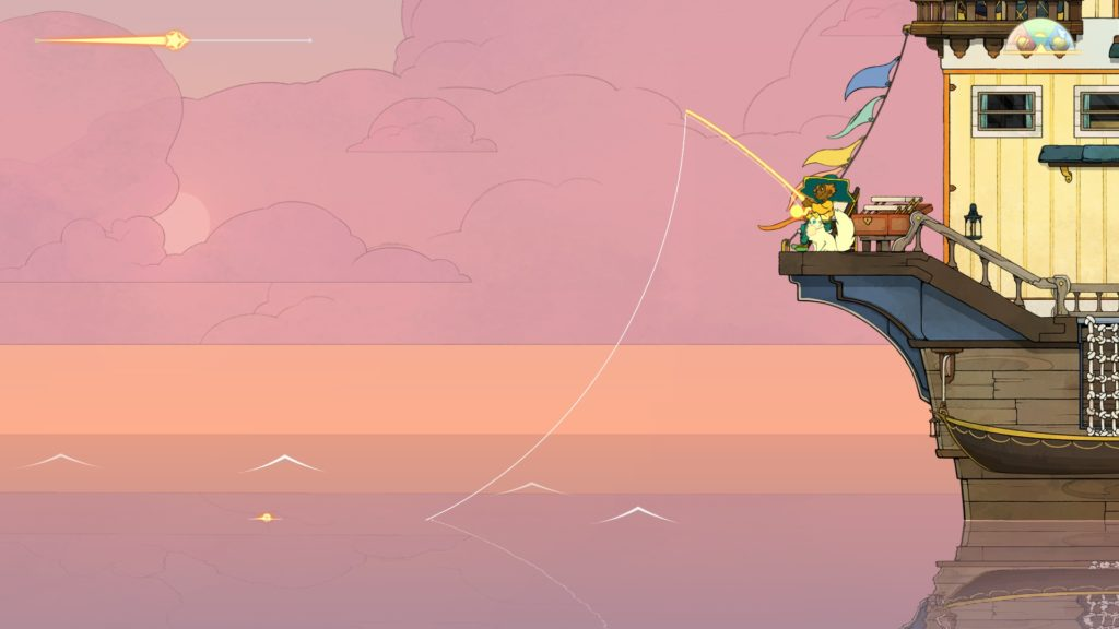 spiritfarer activité pêche