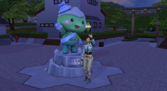 Les Sims 4 : Escapade enneigée