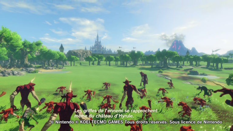 Critique Hyrule Warriors : L'Ère du Fléau