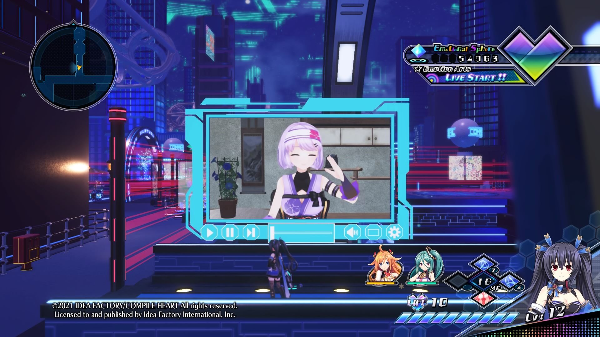 Critique Neptunia Virtual Stars